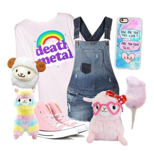 """Innocence "" by little-prince-galacta ❤ liked on Polyvore featuring Cotton Candy, Goodie Two Sleeves, Converse, INC International Concepts, Casetify, cute, littlespace, kiddiecore and kidcore"