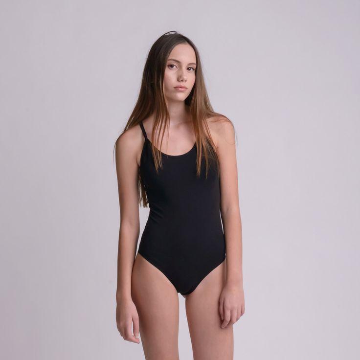 DROP BLACK bodysuit by bodysuits on Etsy