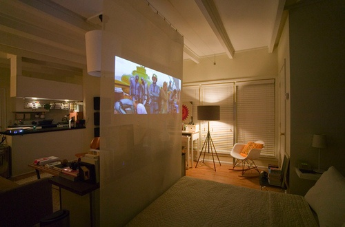 1000 Ideas About Projector Screens On Pinterest Home Theater Installation