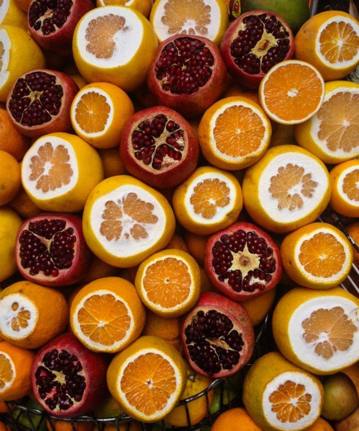 Platos y Sabores de Estambul (Turquía) - Jugos y Zumos de Naranja y Granada