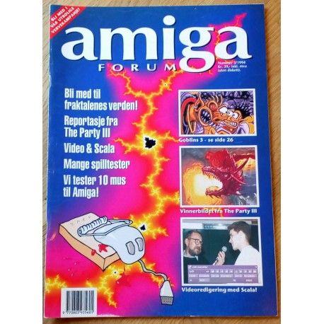 Amiga Forum: 1994 - Nr. 2 - Bli med i fraktalenes verden!