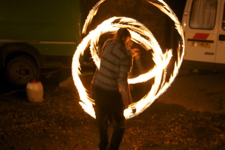 Paul and his Fire Staff ::  Image by IansMadHouse