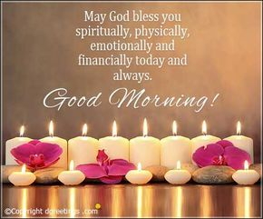 Browse through this page to get some of the best good morning messages.