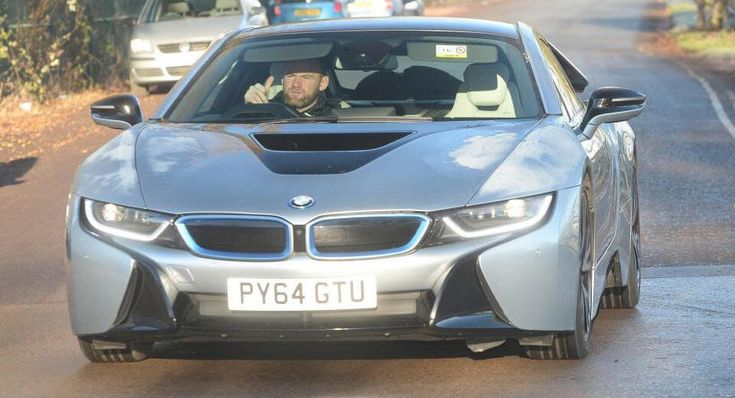 Wayne Rooney Will Sell You His BMW i8 For £64,995 #news #BMW