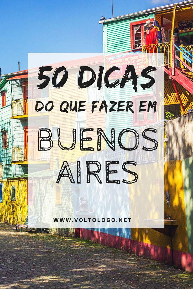 50 dicas do que fazer em Buenos Aires. Descubra quais lugares incluir em um roteiro de viagem, as principais atrações e pontos turísticos, além de lugares menos conhecidos.