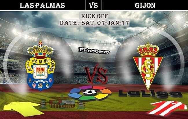 Las Palmas vs Sporting Gijon 07.01.2017 Predictions - PPsoccer