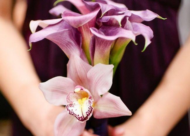 орхидеи на вашей свадьбе 12 букет подружки