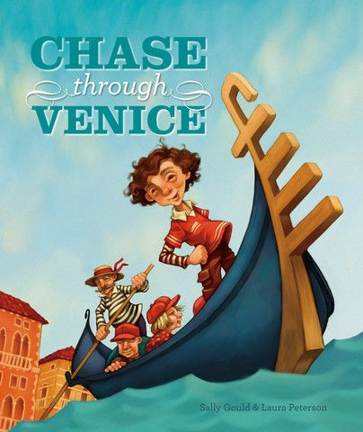 'Chase Through Venice' - #ChildrensBook #written by #SallyGould and #illustration by #LauraPeterson. As his #father steers the #gondolier through the #streets of #Venice, Marco #entertains #tourists with #stories of the #sights of Venice. One #day a #tourist leaves his #camera in the gondolier and this begins Marco's #chase through Venice to find the camera's owner.  Find out more or #purchase this #book via the link - http://www.windyhollowbooks.com.au/products/chase-through-venice