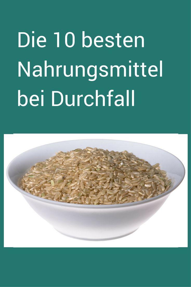 Schnelle Hilfe bei Durchfall - und wie man vorbeugen kann. Nach TCM.  #Durchfall #Diarrhoe #Reis