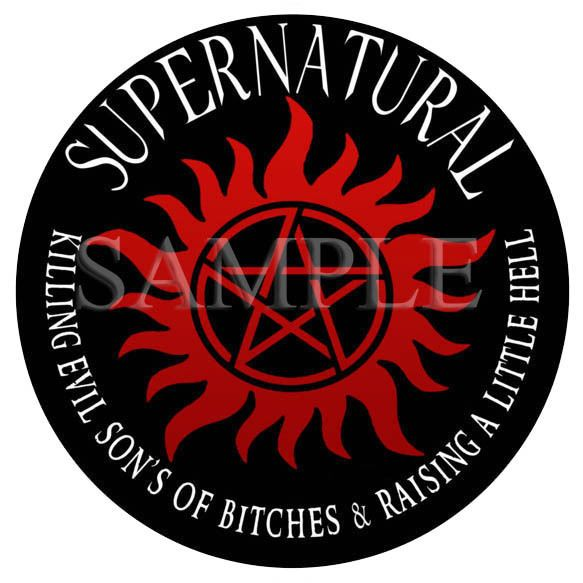 Supernatural killing evil car decal vinyl sticker u k post only in vehicle parts accessories