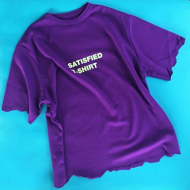 SATISFIED T-shirts  #ader#adererror#restock
