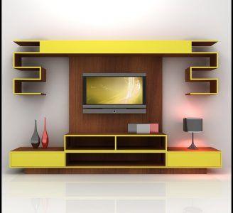 models tv wall unit modern design - Designer Wall Unit