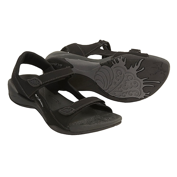 Columbia Sportswear Sun Light Sandals (For Women) in Black/Oyster