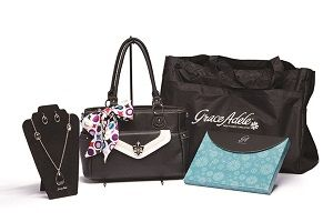 Grace Adele starter kit for $199 + tax in your area. (US only price) Become a Grace Adele Independent Consultant.