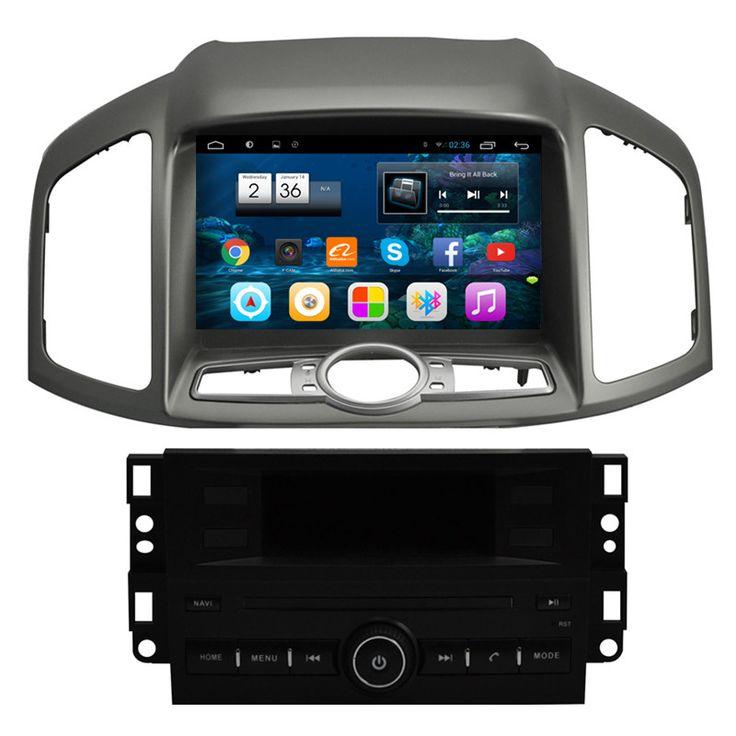 "8"" Android Autoradio Head Unit Car Multimedia Stereo GPS Navigation DVD Radio Audio Chevrolet Captiva 2012 2013 2014 2015 2016"