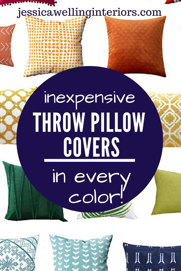 These Cheap Colorful Throw Pillow Cover Are Perfect For Adding Some Modern Bo In 2020 Cheap Throw Pillow Covers Inexpensive Throw Pillows Colorful Throw Pillow Covers