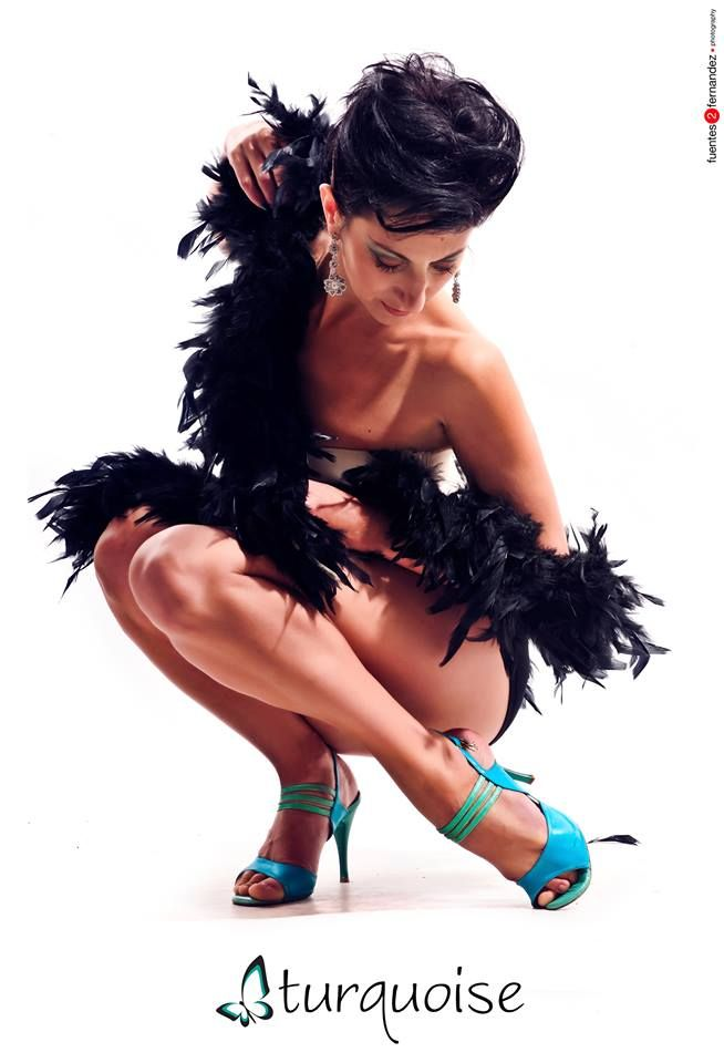 """Amy's turquoise dancing heels. For more Alternative Wedding inspiration, check out the No Ordinary Wedding article """"20 Quirky Alternatives to the Traditional Wedding""""  http://www.noordinarywedding.com/inspiration/20-quirky-alternatives-traditional-wedding-part-2"""