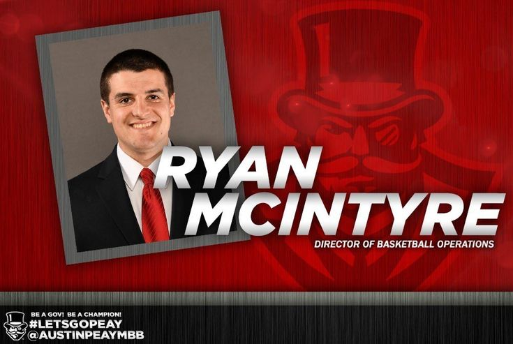 Ryan McIntyre joins APSU Men's Basketball Staff as Director of Operations