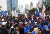 Jakarta, 1 May 2012 - Thousands Indonesian Workers Held Rally.. Royalty Free Stock Photo, Pictures, Images And Stock Photography. Image 13491607.