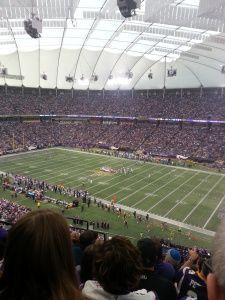Minnesota Vikings MetrodomeFinale
