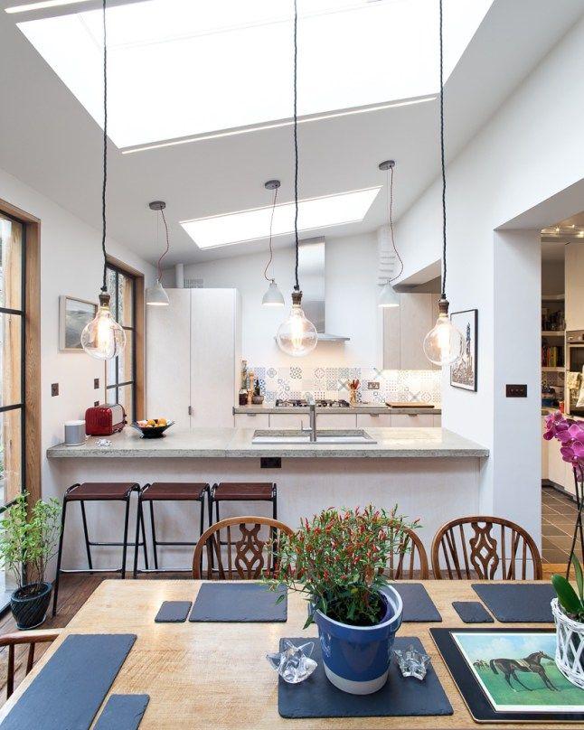 Oltre 1000 idee su lumiere cuisine su pinterest tavolo industriale cuisine angle e riflettore for Quelle piece preferez vous dans votre maison