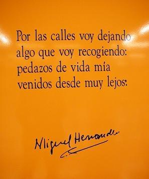 Poema de Miguel Hernández