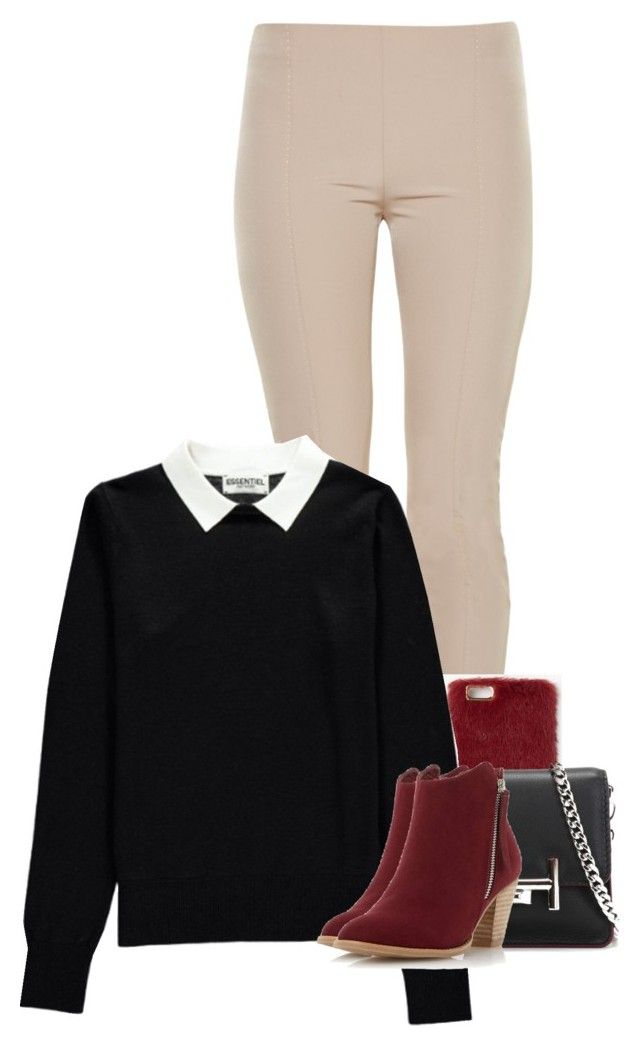 LIKE + desc. by jackrabbit0823 on Polyvore featuring polyvore fashion style Essentiel The Row Dorothy Perkins Tod's Missguided clothing