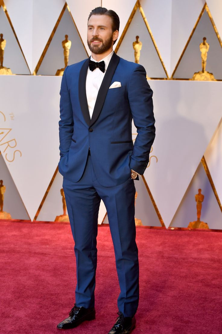 The 2017 Oscars Were Taken Over by Blue Tuxedos Photos | GQ
