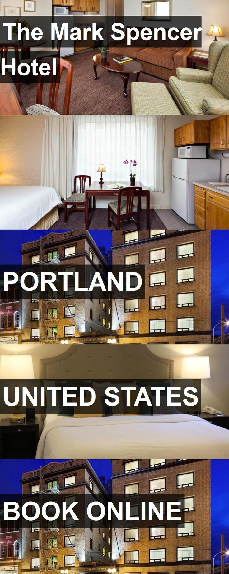 The Mark Spencer Hotel in Portland, United States. For more information, photos, reviews and best prices please follow the link. #UnitedStates #Portland #travel #vacation #hotel