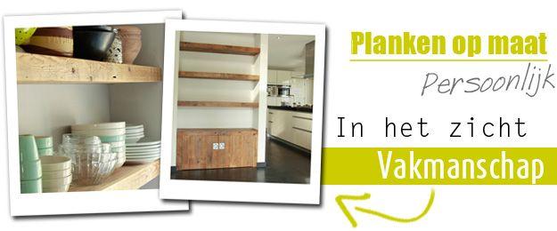 Keuken Wandplank Op Maat : PLANKEN OP MAAT: Een decoratieve oplossing! Meubelmakerij Van Oud