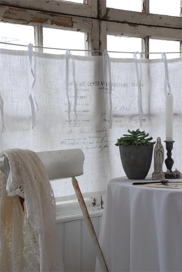 36 Stylish Primitive Home Decorating Ideas: Primitive Vorhänge Ideen