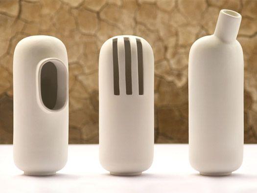 Objectify Vase Series by Isabell Gatzen