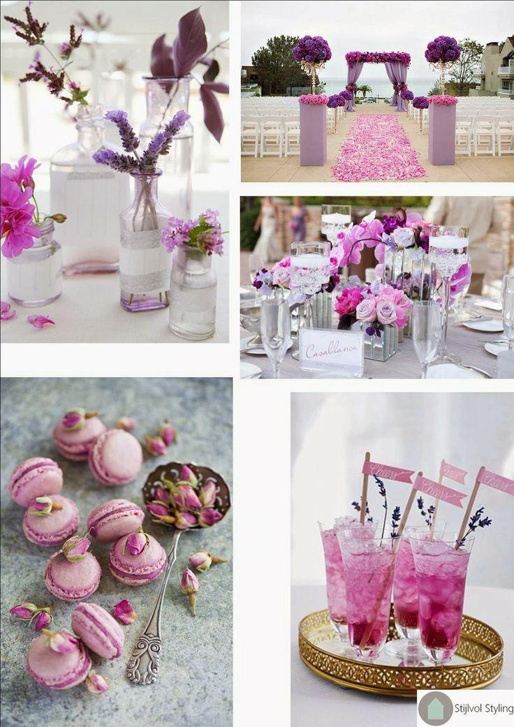 Stijlvol Styling: Inspirerende ideeën voor een 'Radiant Orchid' thema bruiloft! http://stijlvolstyling.blogspot.nl/2013/12/inspirerende-ideeen-voor-een-radiant.html