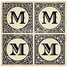 Картинки по запросу decorative letter m