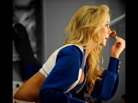 NFL Dallas Cowboys Cheerleaders Makeup using the UD NAKED Palette
