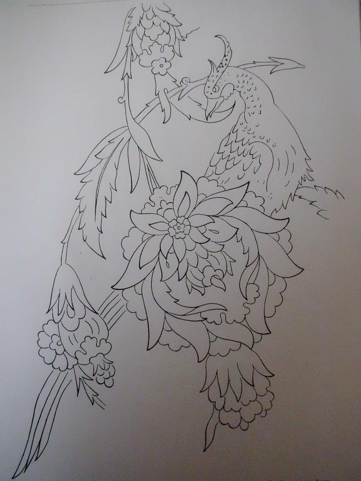 I like the peacock