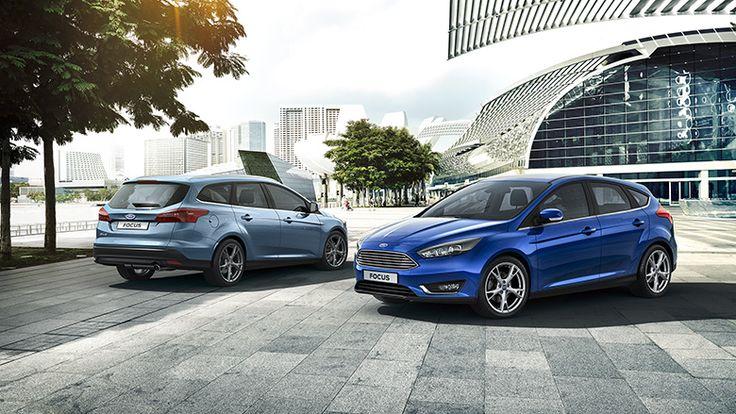 New Ford Focus 5-deur & Clipper