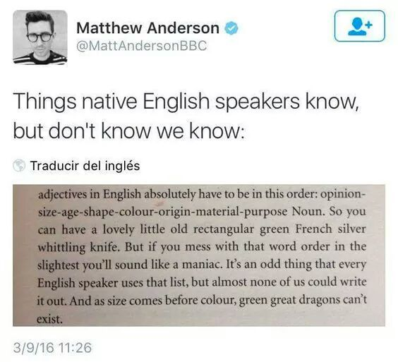 As a native English speaker, I've never thought about this, but it's totally true.