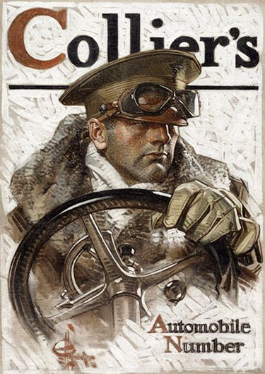 Colliers Cover Illustration - J.C. Leyendecker: