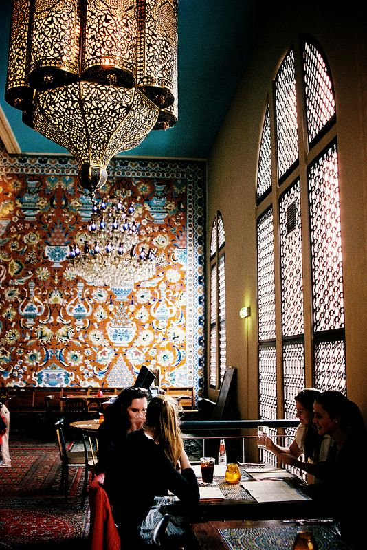 Bazar Restaurant, Albert Cuypstraat, Amsterdam, Netherlands