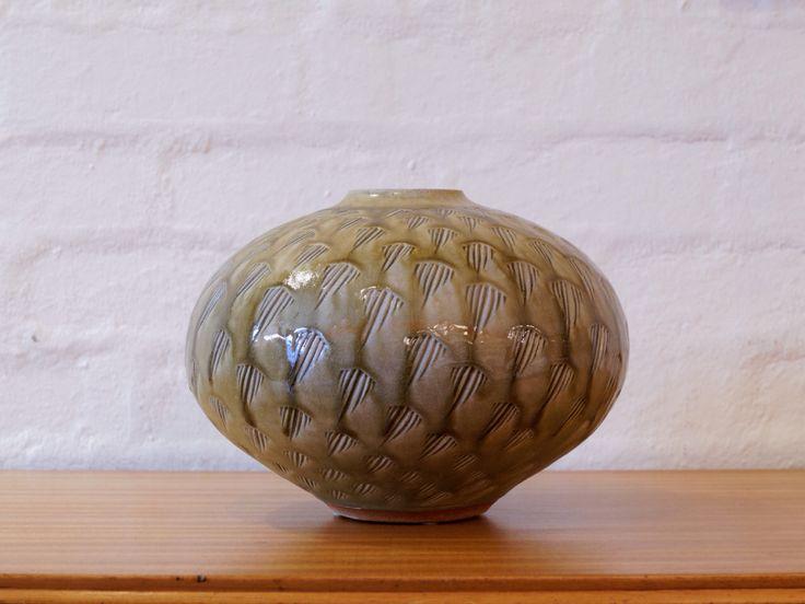 Ceramic vessel by Richard Brooks.