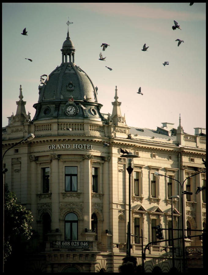 Uwielbiam ten budynek