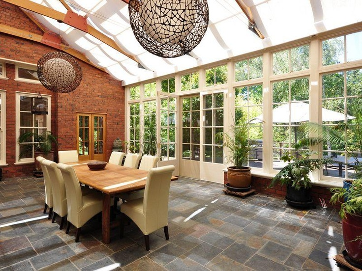 1000 images about skylights and angled windows on for Kitchen with sunroom attached