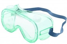 A600 Splash Goggles  http://ca.en.safety.ronco.ca/products/26/35/132/a600  A600 Splash goggles offer exceptional advantages over other over-the-glass (OTG) goggles for all day comfort, superior fit and climate adaptability. These economical goggles offer chemical splash and impact resistance. A600 Splash goggles have a Fog-Ban® anti-fog coating, indirect venting system and fit over most prescription eyewear, so once workers try them, they'll never want to wear anything else.