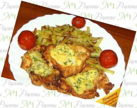 Рецепты салатов из филе курицы с ананасом