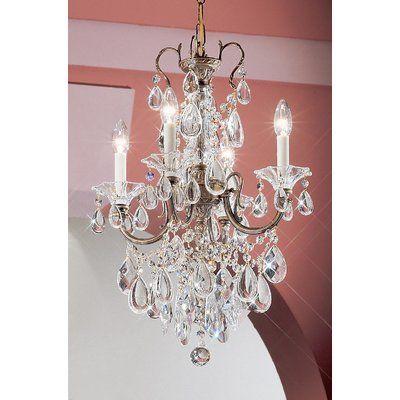 Classic Lighting Via Venteo 4Light Candle Style