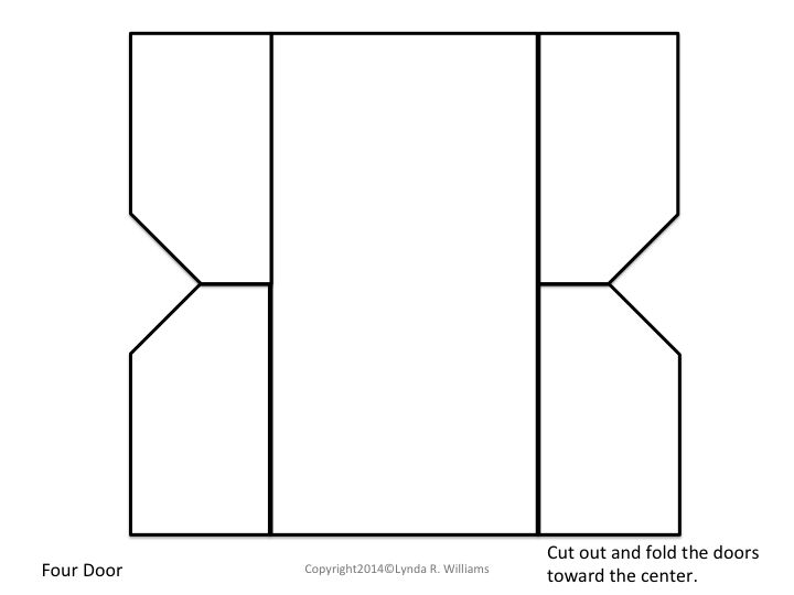 free foldable templates