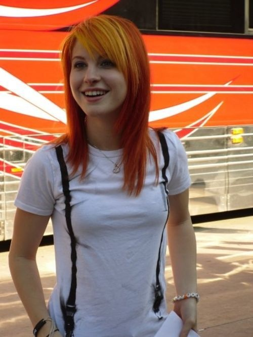 Miss Hayley Williams | I'm sorry I just love her and her always amazing hair ok ugh