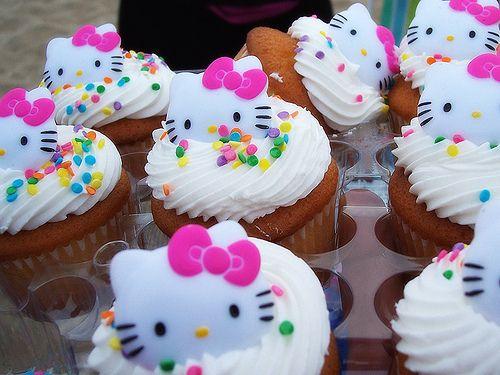 hello kitty bday cake lol
