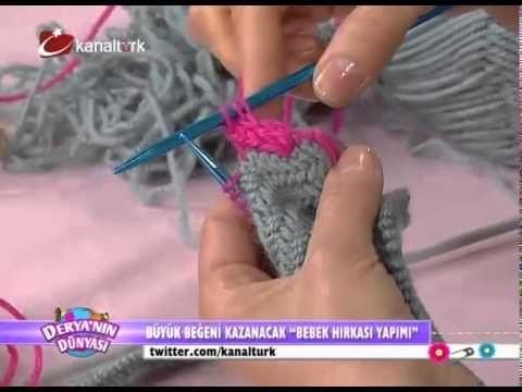 Derya Baykal - Bebek hırkası yapımı (Anlatımlı)